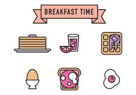 Breakfast Vector Icons Thumb