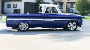 100 66 Chevy Truck 10SEC CHEVY PICKUP BAGGED DAILY DRIVER 60 LS 15 HOT ROD