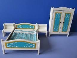 puppenstuben lundby schlafzimmer blau orange eur 9 99