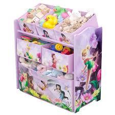 chambre fee clochette les fees meuble de rangement enfant jouets 6 bacs achat vente