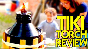 Citronella Oil Lamps Uk by Best Tiki Torch To Repel Mosquitos With Citronella Fuel Youtube