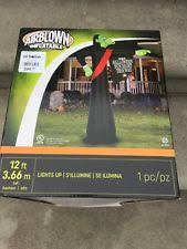 Airblown Halloween Inflatable Archway Tunnel by Halloween Inflatable Ebay