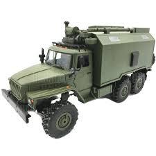 WPL B36 Ural 1/16 2.4G 6WD Rc Car Military Truck Rock Crawler ...