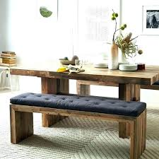 Diy Kitchen Table Bench Wooden With Narrow Dining Room Tables