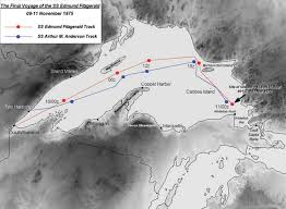 edmund fitzgerald final voyage plotjpg cdc0d69d8402ec73 jpg 1 037