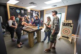 Introducing Axe Throwing To Alberta | BATL Bad Axe Throwing Where Lives Youtube Think Darts Are Girly Try Axe Throwing Toronto Star Outdoor Batl At In Youre A Add To Your Next Trip Indy Backyard League Home Design Ideas The Join The Moving Into Shopping Mall Yorkdale Latest News National Federation Menu