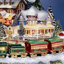 Mountain King Christmas Trees Color Order by Amazon Com Thomas Kinkade Wonderland Express Animated Tabletop