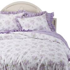 Simply Shabby Chic Bedding by Simply Shabby Chic Belle Hydrangea Floral 3 Pic Duvet Set W 2