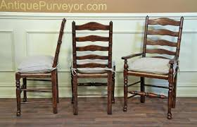 Splendid Rustic Leather And Wood Dining Chairs Top ...