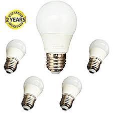 6 pack homelek 3w led light bulbs equivalent to 25w e26 base
