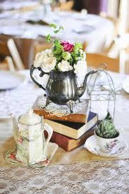 Shabby Chic Wedding Decor Pinterest by Best 20 Teacup Centerpieces Ideas On Pinterest Tea Party