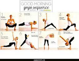 Beginner Yoga Routine Chart Archives
