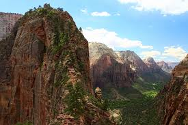 Angels Landing of Zion Valley in Zion National Park Thousand