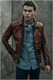 256 best leather jackets for men images on pinterest menswear