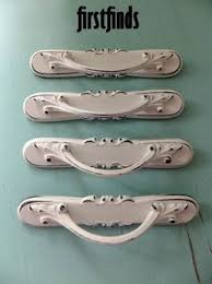 35 avail leaf designed white distressed kitchen handles shabby