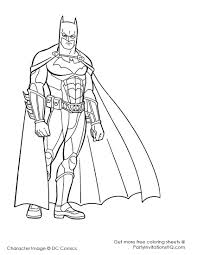 Coloring Pages Attractive Superheroes