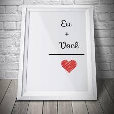 Poster Eu Você U003d Amor U2026 DYI Amoru2026