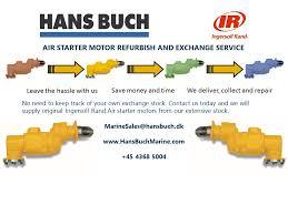 ingersoll rand air starter motor air starter motor refurbishment from ingersoll rand