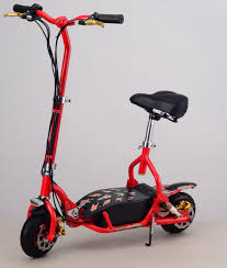 Two Wheel Kids Scooter 300W 24V Foldable Electric Adults SportsLeisure Scooters With FrontRear LED Lights In From Sports