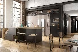 cuisines ouvertes une cuisine ouverte avec un bar
