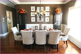 Christmas Decorating Ideas Kitchen Table Black Leather Fabric On Rug Dining Room Decor Wooden
