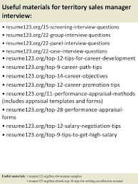 Sample Resume For Territory Sales Manager Also Useful Materials To Create Stunning 612