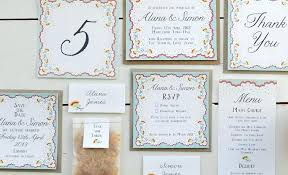 Wedding Invitations Sets Packed With Large Size Of Stationery And