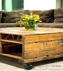 Tables Made From Pallets Coffee Table Of Fit For Your House