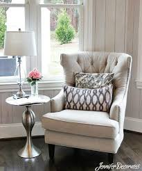 Side Chair Table In OfficeCottage Style Decorating Ideas From Jennifer Decorates Living Room