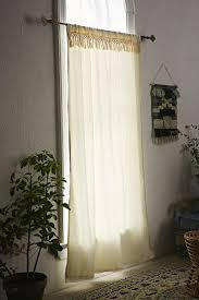 No Drill Curtain Rod Brackets by Nickel Plated Curtain Rod Hanging Curtains With Command Hooks No