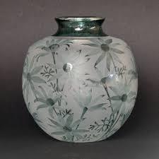100 Flannel Flower Glass Vase