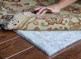 Felt Rug Pads For Hardwood Floors by Felt Rug Pad For Hardwood Floor Brown Wooden Floor Natural Fiber