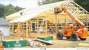 Pole Barn Build 3 - Framing And Roof Truss Placement Time-Lapse ... Decorating Cool Design Of Shed Roof Framing For Capvating Gambrel Angles Calculator Truss Designs Tfg Pemberton Barn Project Lowermainland Bc In The Spring Roofing Awesome Inspiring Decoration Western Saloons Designed Built The Yard Great Country Smithy I Am Building A Shed Want Barn Style Roof Steel Carports Trusses And Pole Barns Youtube Backyard Patio Wondrous With Living Quarters And Build 3 Placement Timelapse Angles Building Gambrel Stuff Rod Needs Garage Home Types Arstook