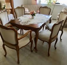 esszimmer komplett tisch stühle buffet eckvitrine