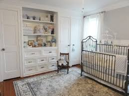 Pottery Barn Kids Nyc for a Traditional Nursery with a Crown