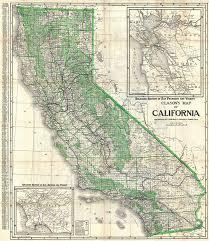 Clasons Map Of California
