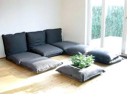Oversized Floor Pillows Floor Pillows Pier e Decorating With