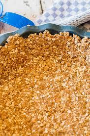 Keeping Pumpkin Pie Crust Getting Soggy by Oatmeal Pie Crust Easy Recipe For Cream Pies Just 5 Ingredients