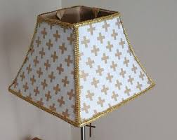 Stiffel Bell Lamp Shades by Gold Lamp Shade Etsy