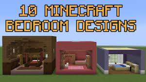 Cool Bedrooms In Minecraft Pe