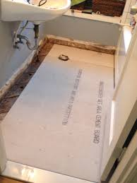 Tiling A Bathroom Floor On Plywood by Bathroom Tile Floor Finished U2013 Better Remade