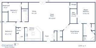 barndominium floor plans furthermore genesis steel home floor
