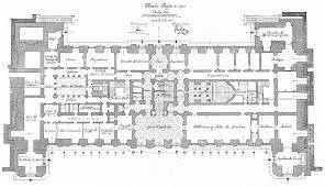 Highclere Castle First Floor Plan by Impressive 18th Century English Manor House Plans 8 The First