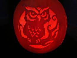 Owl Pumpkin Template by Owl Face Pumpkin Stencil