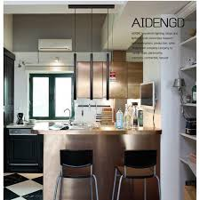 Aliexpress Buy LukLoy Pendant Lights Modern Kitchen Lamp Dining Room Aluminum Loft 3cm Pipe Spot Island Light Bar Counter Tube From