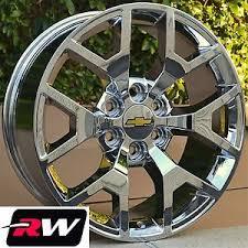 2014 2015 GMC Sierra OE Factory Replica Wheels Rims Chrome 20