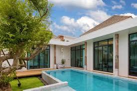 100 Houses In Phuket 2 Bedroom Oriental Theme Pool Villa For Sale In Palai