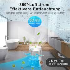 lonove luftentfeuchter elektrisch raumentfeuchter tragbarer 900ml tragbar und kompakt automatischer entfeuchter leise luftentfeuchter schlafzimmer