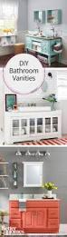 Diy Bathroom Vanity Tower by Best 25 Diy Bathroom Vanity Ideas On Pinterest Half Bathroom