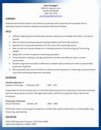 Cnc Machine Operator Resume Sample Fresh Free For New Cncst